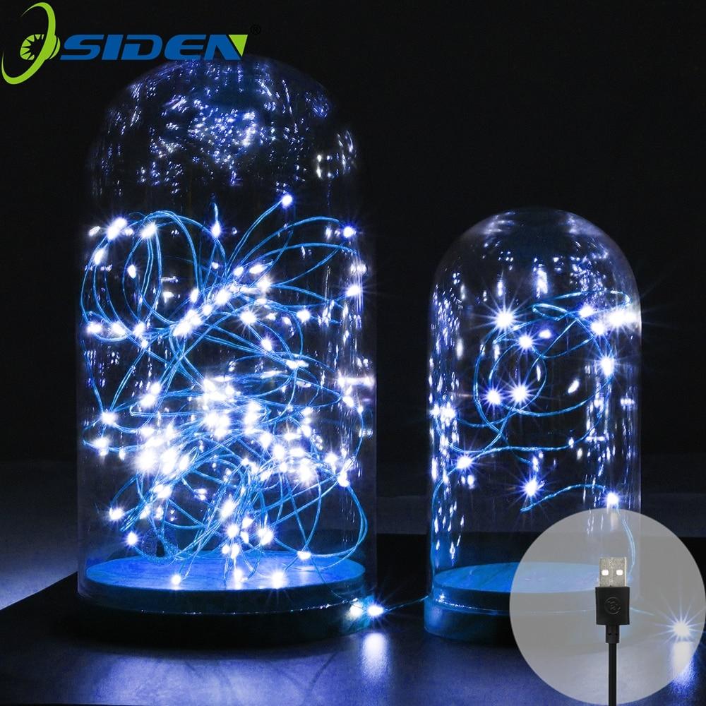 led string light 2-10M 20-100led supply outdoor Fairy light warm - Мерекелік жарықтандыру - фото 3