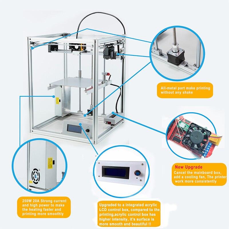 3d комплект принтера на алиэкспресс