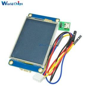 """Image 2 - Tiếng Anh Nextion 2.4 """"TFT 320X240 Màn Hình Cảm Ứng Điện Trở USART UART Màn Hình HMI Nối Tiếp Module LCD Hiển Thị Cho Arduino raspberry Pi 2 A +"""