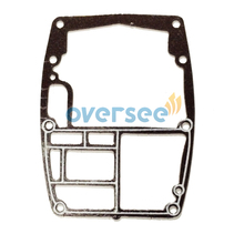 OVERSEE 6H3 45113 A0 00 Gasket Upper Casing Replaces For Yamaha 60HP Parsun Powertec Outboard Engine