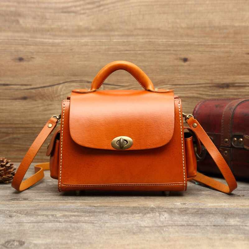 Handmade Leather Satchel Bags Promotion-Shop for Promotional ...