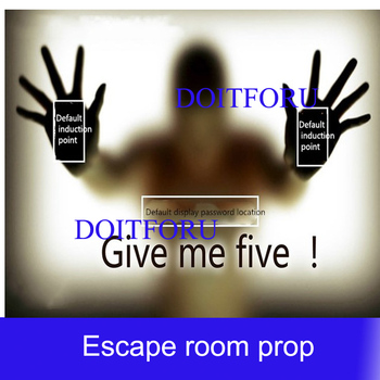 real life games escape room props Multi Touch digital display password organ props escape room game