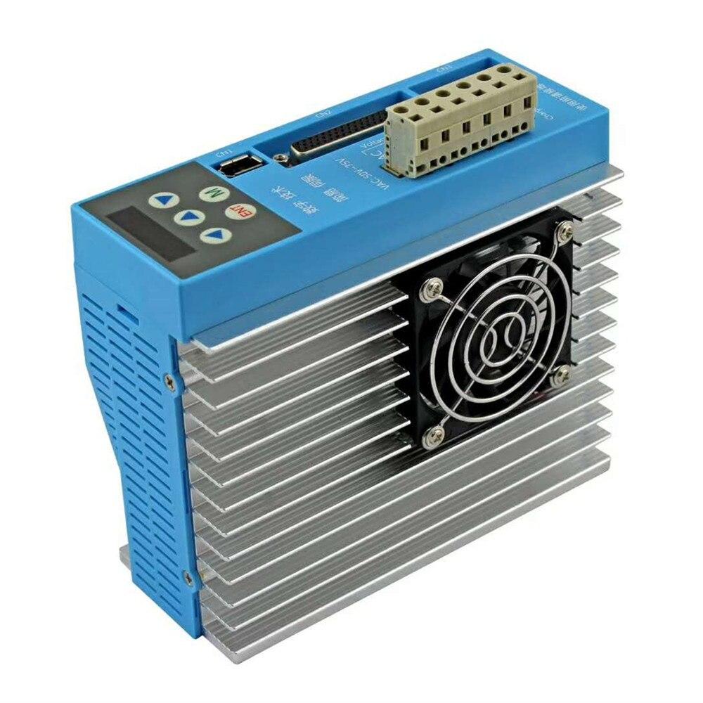 Moteur hybride Servo pas à pas LC86H2160 à boucle fermée haute vitesse 86 ca LC86H2160 LCDA808H pilote d'affichage numérique 12N. m encodeur 7.5A - 4