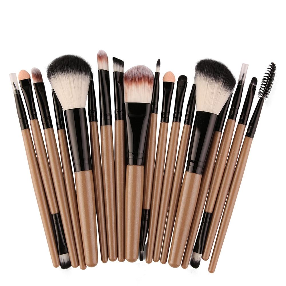 18 pcs Makeup Brush Set tools Make-up Toiletry Kit Wool Make Up Brush Set  F901 2017 hot fashion new 18 pcs makeup brush set tools make up toiletry kit wool make up brush set a10
