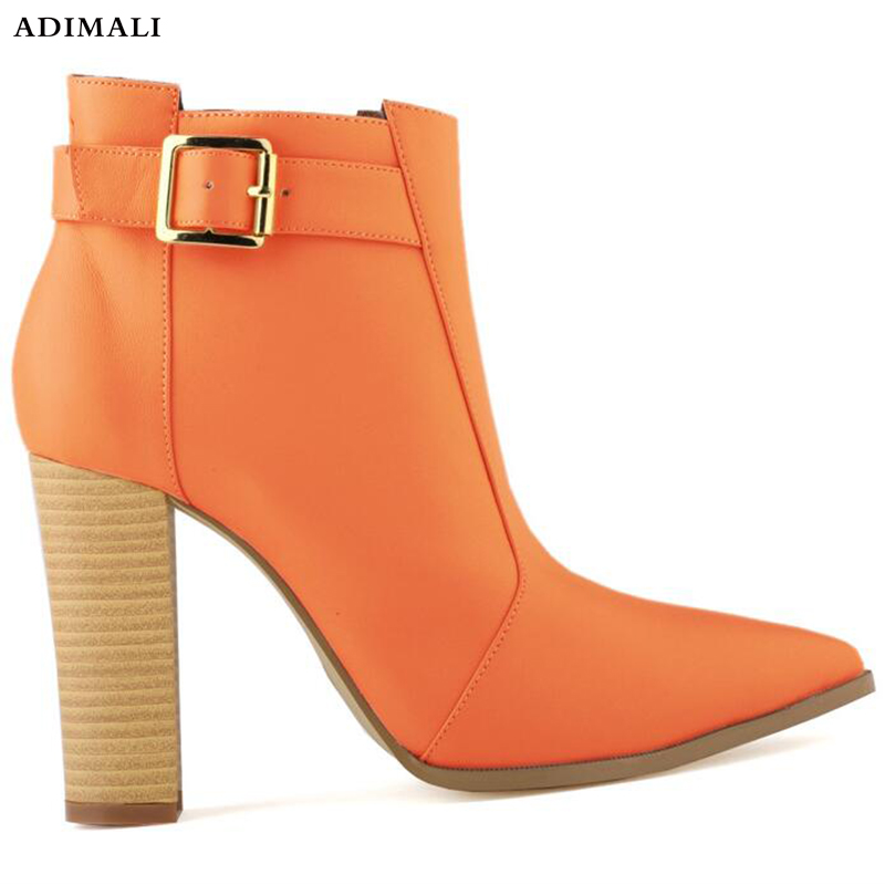 Nouveau Automne Hiver Femmes Bottes Haute Qualité Solide Dentelle-up Dames chaussures australie Mode haute talons Bottes Plate-Forme Pointue chaussures