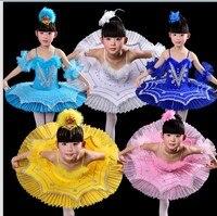New Arrival Children Ballet Tutu Dress Swan Lake Ballet Feather Costumes Kids Girl Ballet Dress For