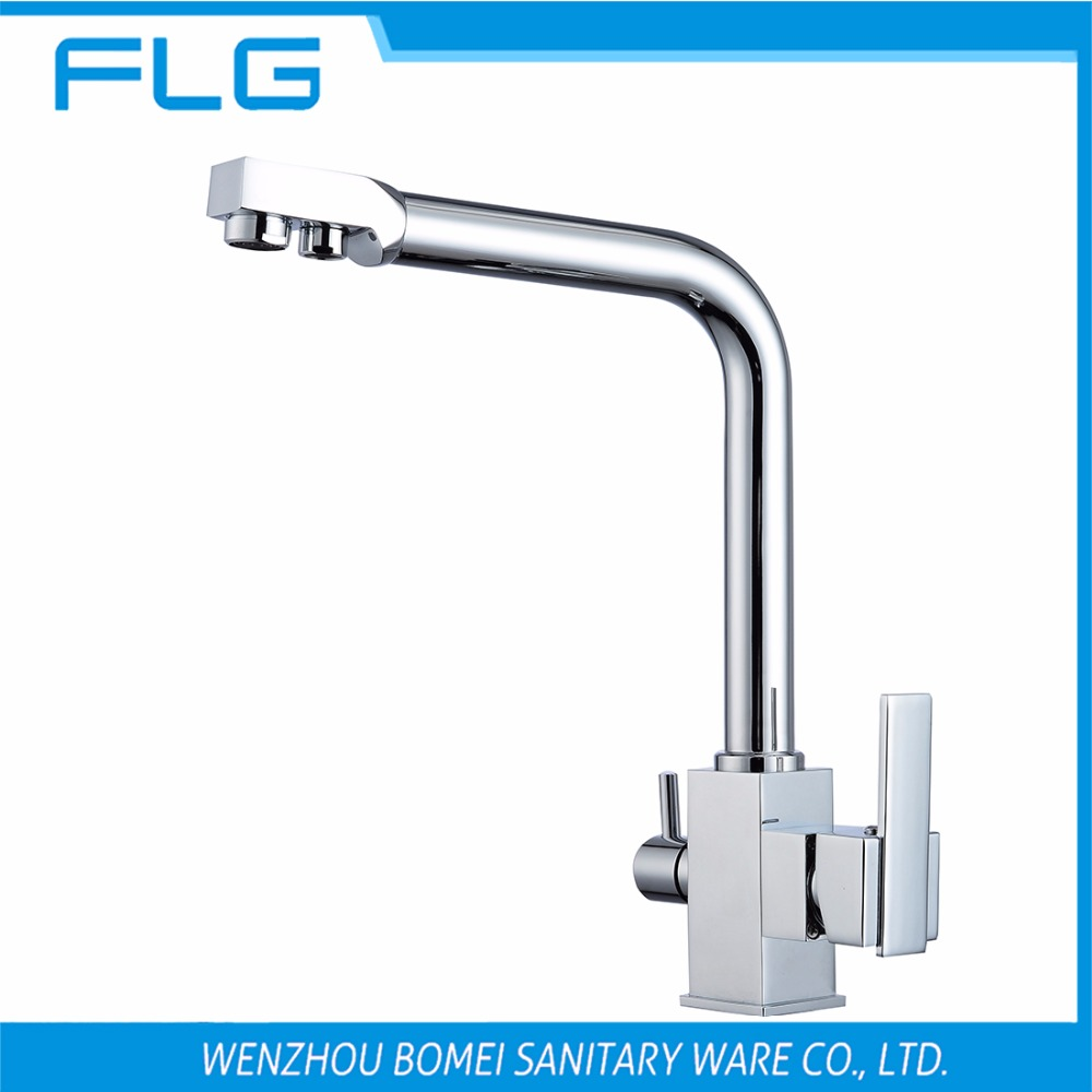 popular kitchen sink brand buy cheap kitchen sink brand lots from free shipping brand new square kitchen sink faucet tap pure water filter mixer dual handles chrome