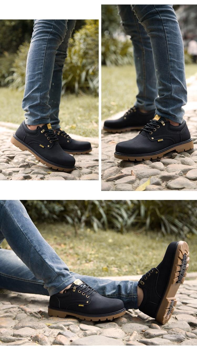 CH8644 England desert boots outdoor tooling men's low shoes hiking shoes tooling shoes