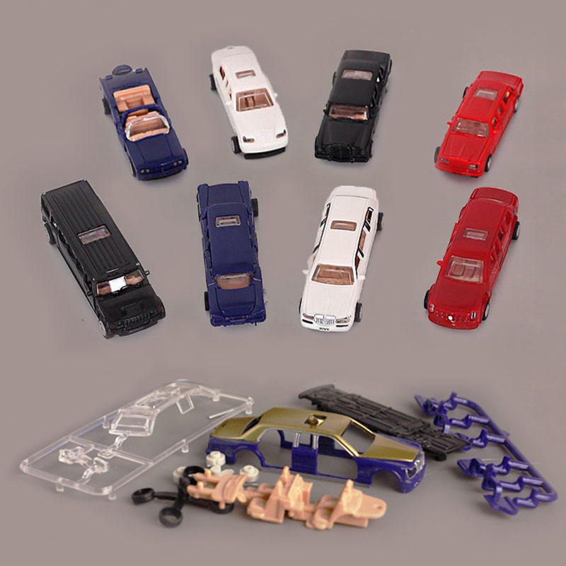 8Set Luxury Car Assemble Puzzle Model Model Building Kits Toys For Children Good Collection Of Gifts Handicrafts