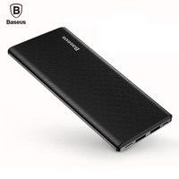Baseus 10000mAh Dual USB Power Bank For IPhone X 8 7 6 Battery Charger Powerbank Mobile