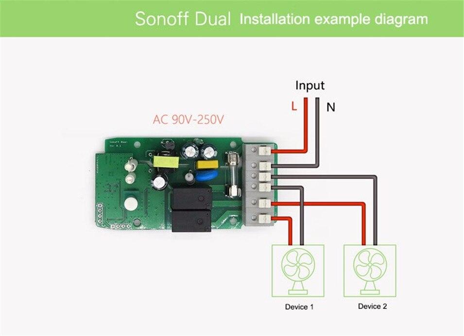 2ch 4ch r2 diy interruptor de automação