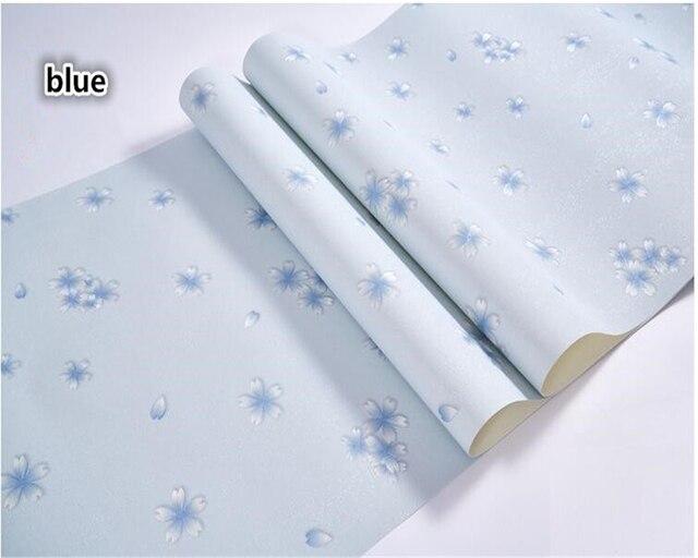 Behang Slaapkamer Landelijk : Beibehang landelijke kleine bloemen papel de parede behang