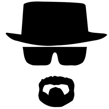 Heisenberg Vinyl Car Window Decal Breaking Bad Walt White Cook Funny Car Sticker Styling Auto Decoration image