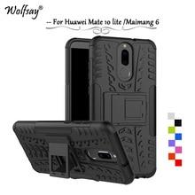 Wolfsay Cover Huawei Mate 10 lite Case mate 10 lite Tough Im