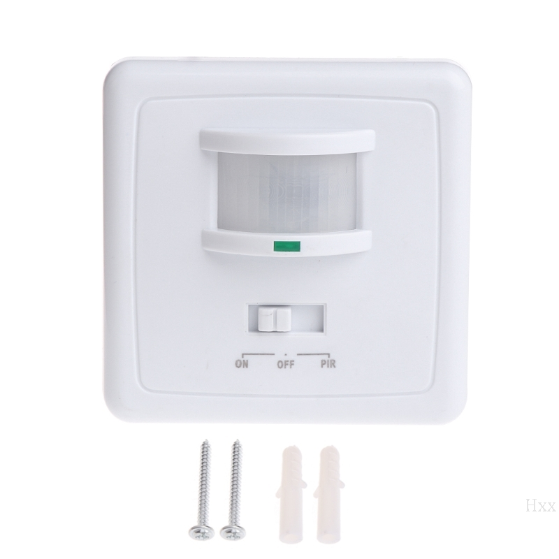 220-240V AC Wall Mounted 9m Automatic PIR Infrared LED Motion Sensor Switch OOTDTY