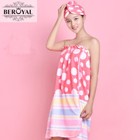 New 2015 1PC Microfiber Magic Bath Towel Bathrobe Dressing Gown For Women Towels Bathroom 1pc Bath