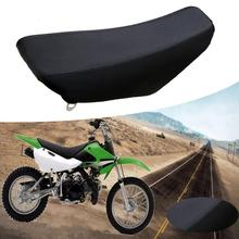 TDPRO New Motorcycle Complete Tall Foam Seats Dirt Bike Motocross Black Seat Cover Cushion For Kawasaki KLX110 KX65 2000-2013
