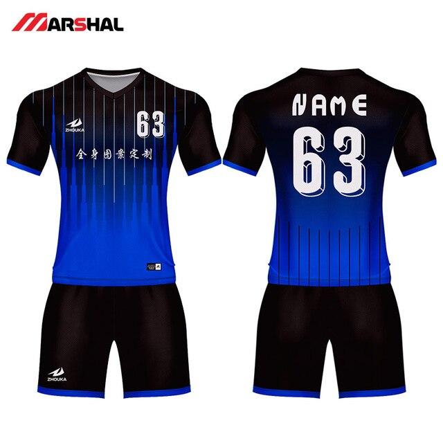 Diseño personalizado práctica del equipo jerseys camisa fabricante kits de fútbol  por encargo uniformes deportivos para 32ee246531b4f