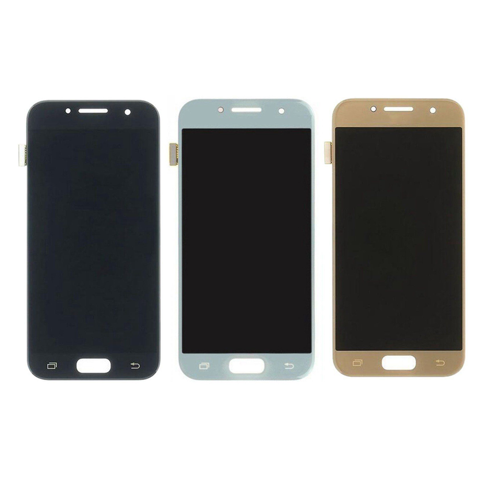 Super Quality <font><b>LCD</b></font> For <font><b>Samsung</b></font> <font><b>Galaxy</b></font> <font><b>A3</b></font> 2017 A320 A320M A320FL A320F <font><b>LCD</b></font> Display Touch Screen Digitizer Assembly + Tools image