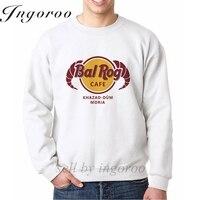 Ingoroo Balrog Cafe Print Letter Streetwear Hipster Sweatshirt Skate Clothes Men Dragon Hoodie Dropshipping Crewneck Sweatshirts