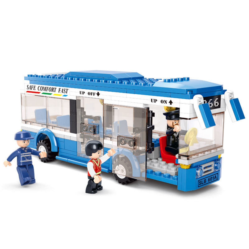 0330 City Bus Building Blocks DIY Model Bricks Building Kit Education Toys Kids Gifts Compatible With LegoINGly City novogodnij vechernij kiev 2016 foto video