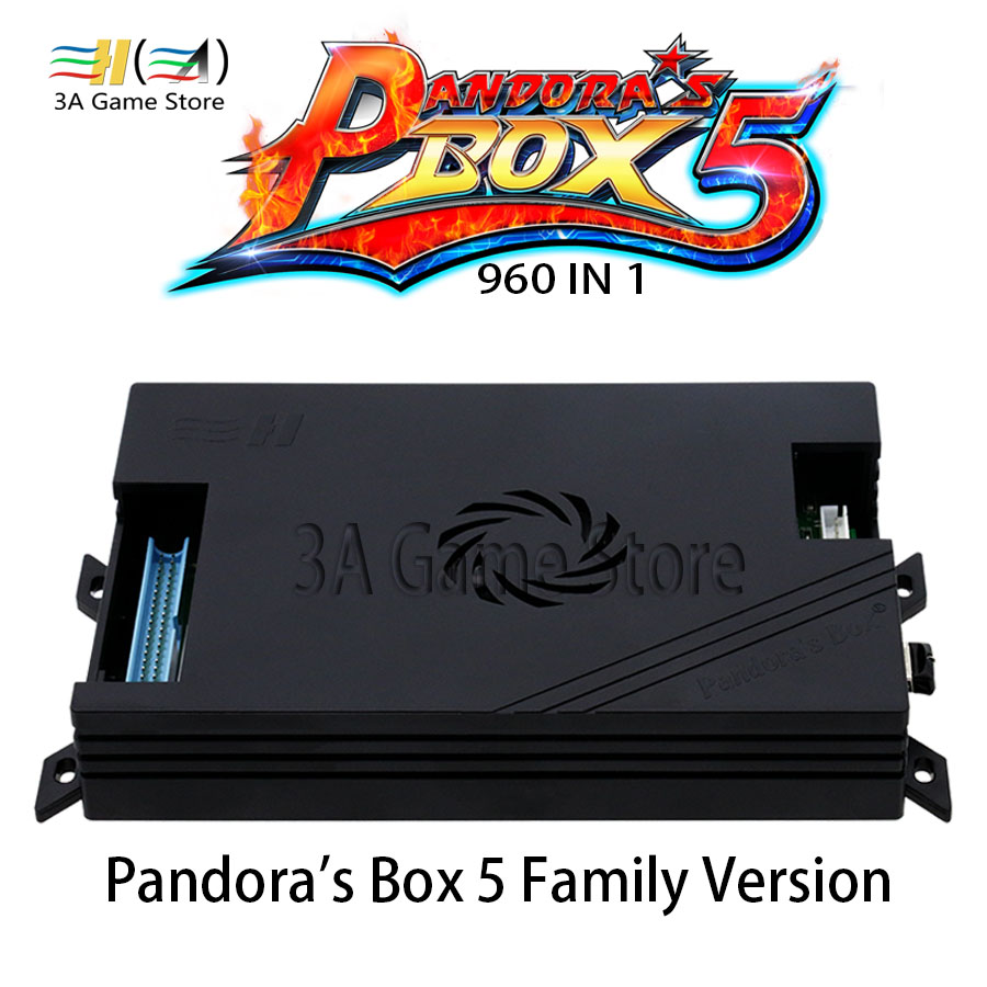 Pandora Box 5 Family Version Motherboard U disk storage game 960 in 1 Board and Harness Power Adapter For Pandora's Box Console board game risk 2nd version full english version high quality very suitable for the party and family