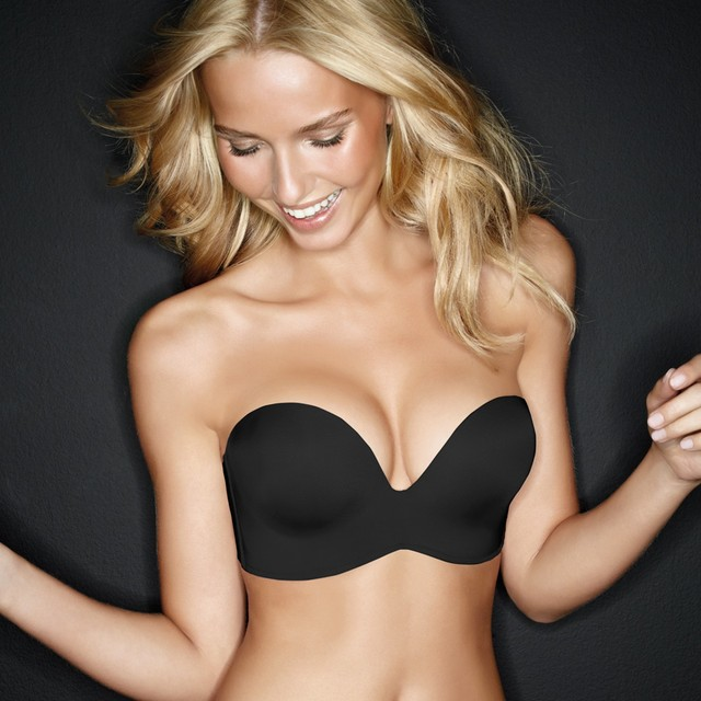 Women Strapless Seamless Lift Bra