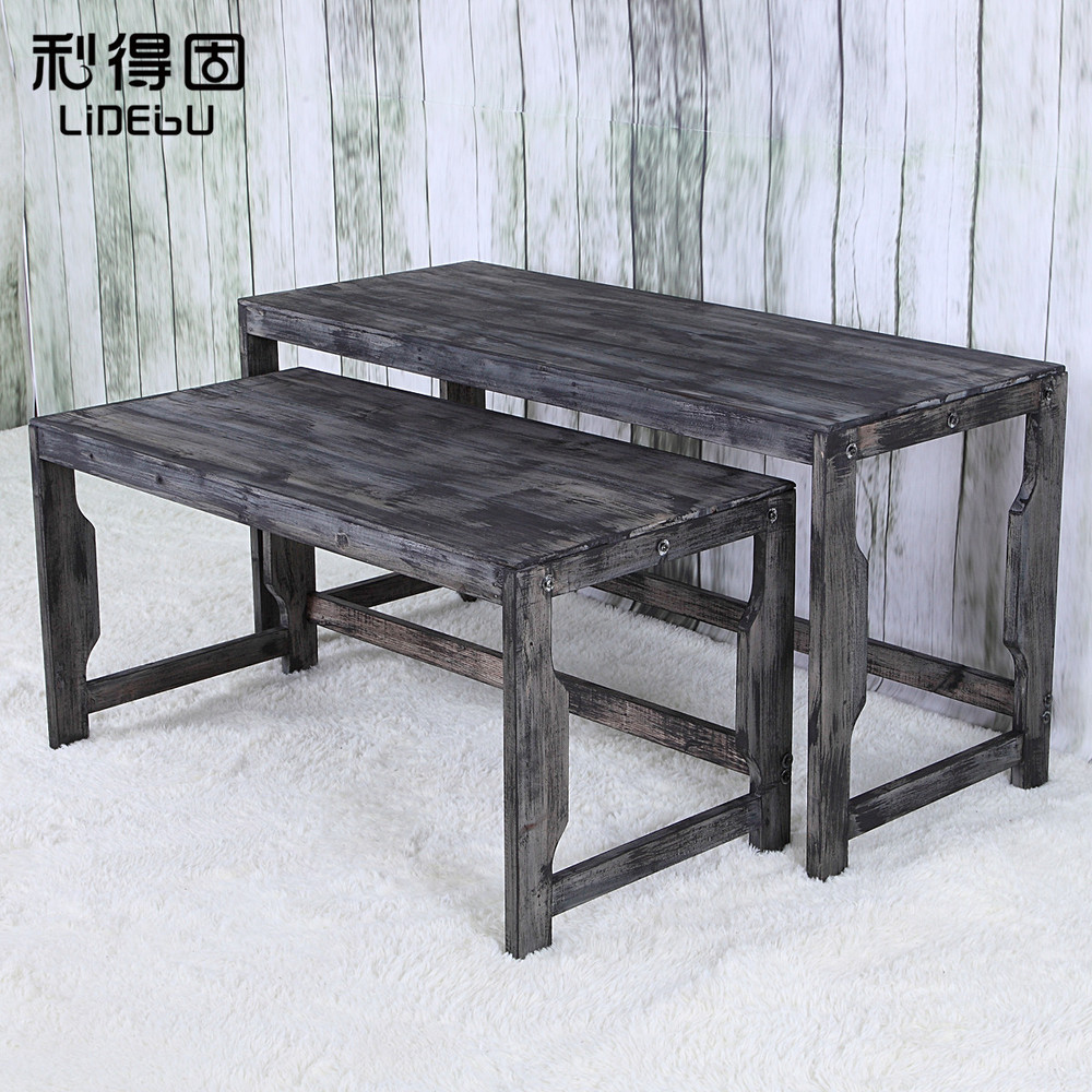 The New Clothing Rack Clothing Store Shelf Wooden Water Table Clothes  Display Floor Island Shelf In Dining Tables From Furniture On  Aliexpress.com | Alibaba ...