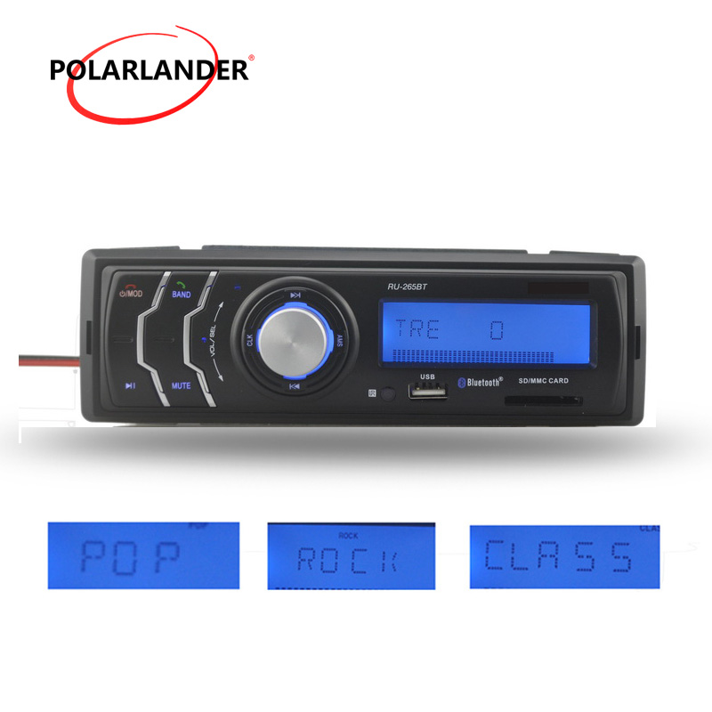 FM Receiver Hot New hands-free call 1 din Audio Auto Stereo Car Radio MP3 Player In-Dash bluetooth USD/SD Card /AUX in