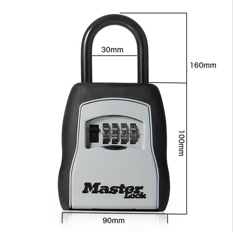 Master Lock Key Safe Box Outdoor Wall Mount Combination Password Lock Hidden Keys Storage Box Security Safes For Home Office digital password combination lock wall mounted key safe storage lock box lockbox safes
