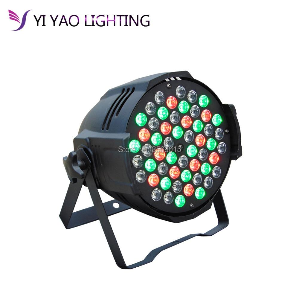 2018 LED Aluminum alloy Par 54x3W RGBW DMX Stage Lights Light with Professional DJ2018 LED Aluminum alloy Par 54x3W RGBW DMX Stage Lights Light with Professional DJ