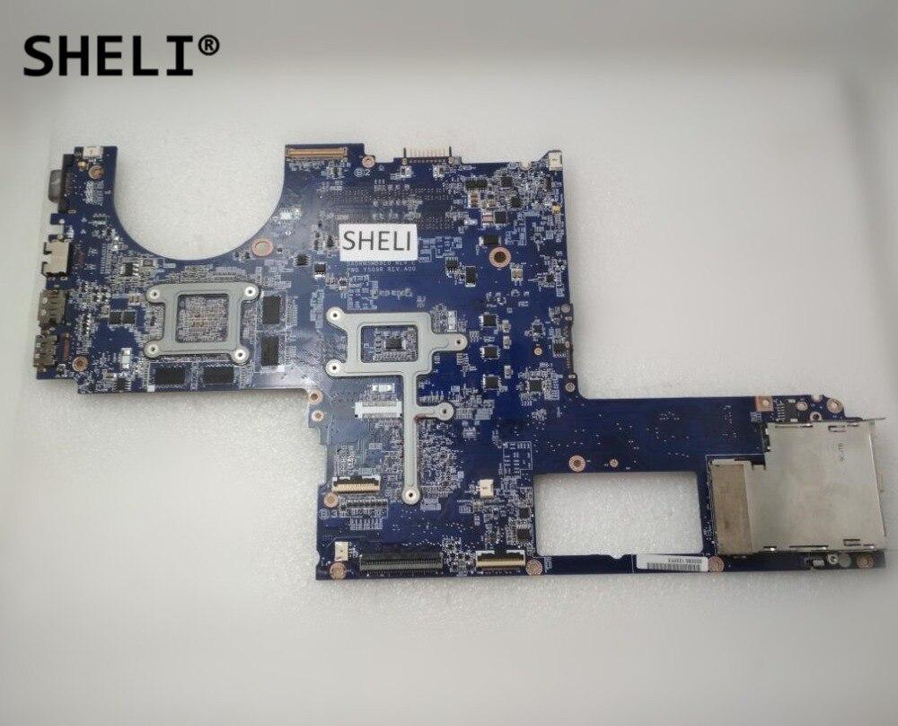 For DELL XPS 1645 Intel Motherboard w// HD 4670 1GB DA0RM5MB8E0 0Y507R Y507R