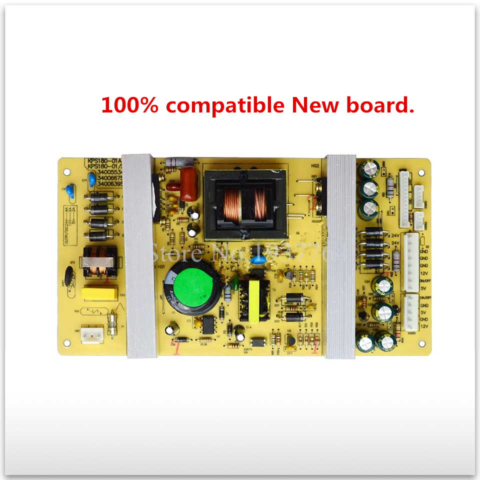 100% compatible New board for KPS180-01A 34005534 34006266 35012877 LC32ES66 power supply board good working good working original used for power supply board led50r6680au kip l150e08c2 35018928 34011135
