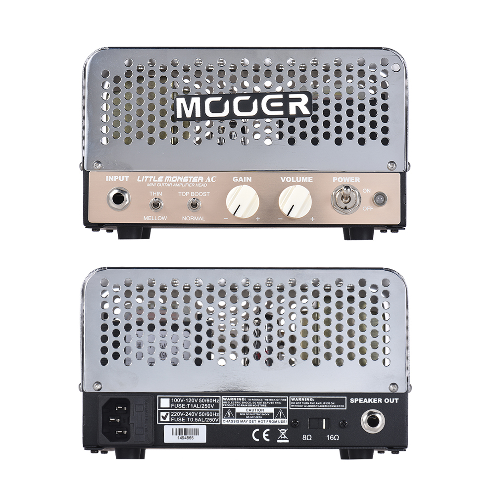 mooer little monster ac mini 5w all tube guitar amp amplifier head ecc8 12ax7 el84 6bq5 with. Black Bedroom Furniture Sets. Home Design Ideas
