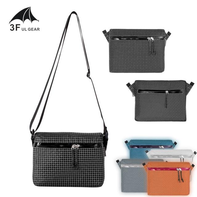 3f UL Lightweight Shoulder bag Durable Travel Packs XPAC & Dyneema