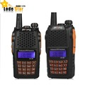 2 UNIDS Pofung UV 6R UV-6R Walkie Talkie BaoFeng Radio de Dos Vías UV6R 5 W 128CH UHF/VHF de Banda Dual Transceptor Mango uv 6r cb radio