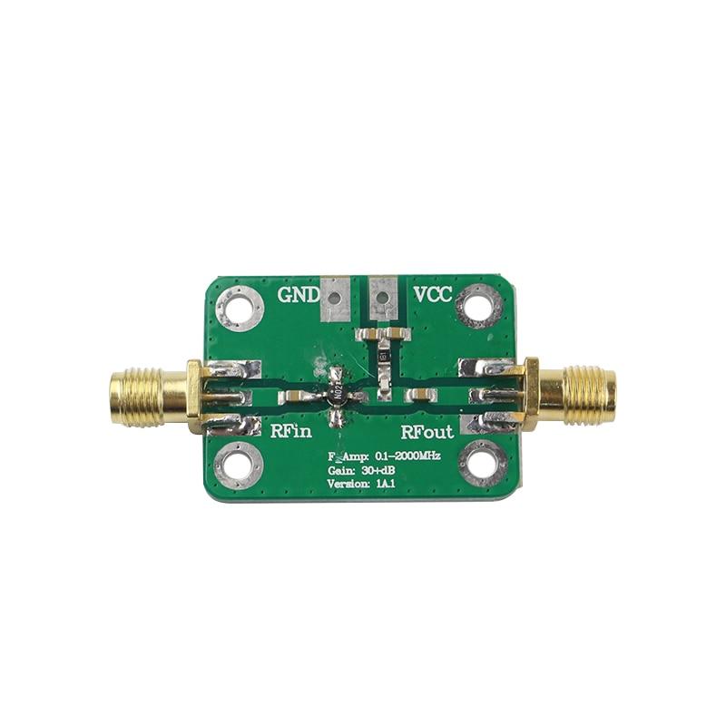 0.1-2000MHz RF Wideband Amplifier High Gain 30dB Low-noise Amplifier LNA Development Board vk1612z2m3l gps test board with low power consumption of beidou lna navigation service module development board