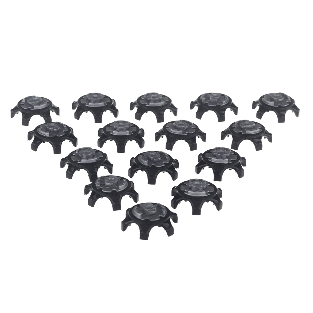 5 PCS 16Pcs Black Easy Replacement Spikes Ultra Thin Cleats for Golf Shoes
