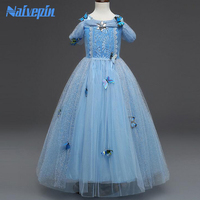 Princess Sleeping Beauty Aurora Cinderella Girl S Dresses Kids Cosplay Dress Halloween Costumes For Kids Girls