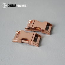 100pcs Plated metal side release buckle for DIY bag parachute cord dog pet collar accessories 3/4 (20mm) manufacture zinc alloy