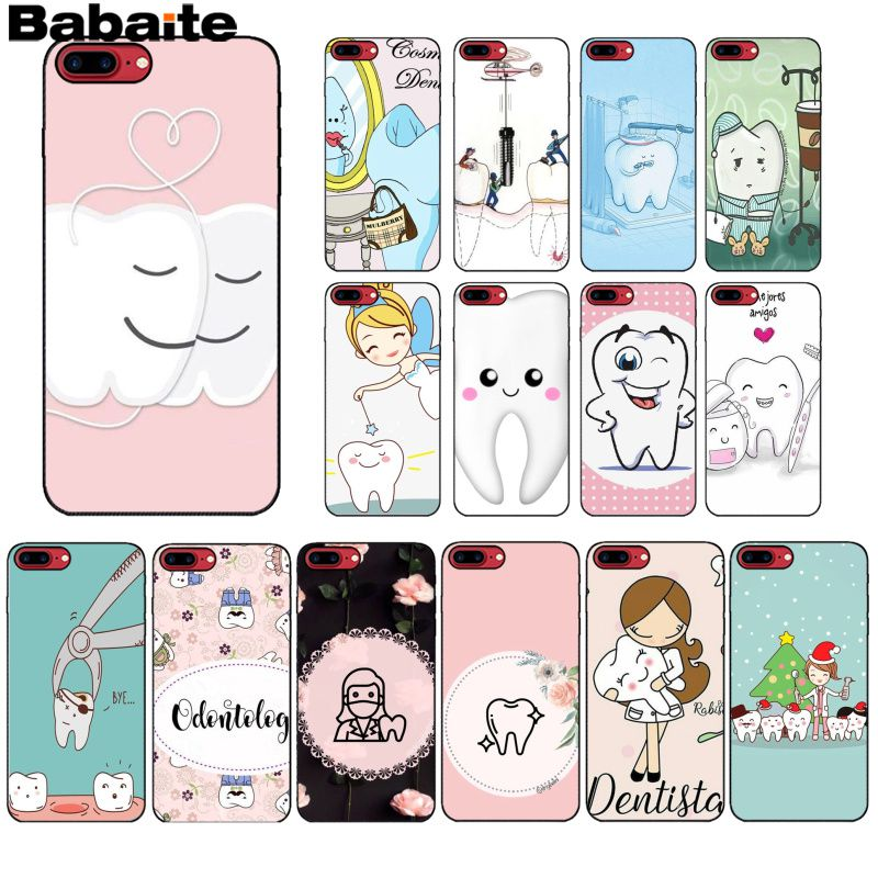 Phone Bags & Cases Cellphones & Telecommunications Babaite Nurse Doctor Dentist Stethoscope Tooth Injections Soft Shell Phone Cover For Iphone 8 7 6 6s Plus 5 5s Se Xr X Xs Max