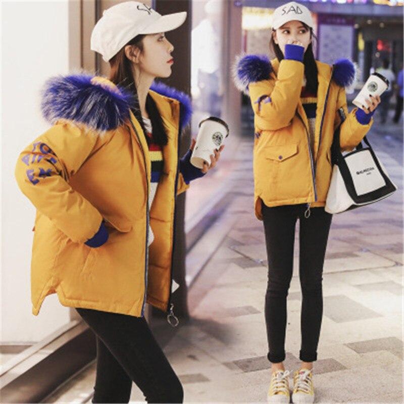 Surmonter Taille Veste Automne Partie Court Et Grand 2018 Vêtements Grande Col À D'hiver Coton Nouveau De Occasionnel Fourrure SpGUzqMV