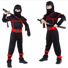 Classic Costumi di Halloween Cosplay Costume di Arti Marziali Ninja Costumi Per I Bambini Decorazioni Del Partito Forniture di Uniformi