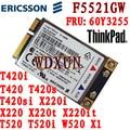 Original módulo f5521gw 21 mbps tarjeta de red inalámbrica 3g para ibm lenovo thinkpad x220 w520 t420