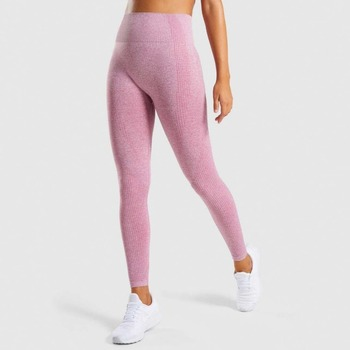 High Waist Pink Sport Leggings