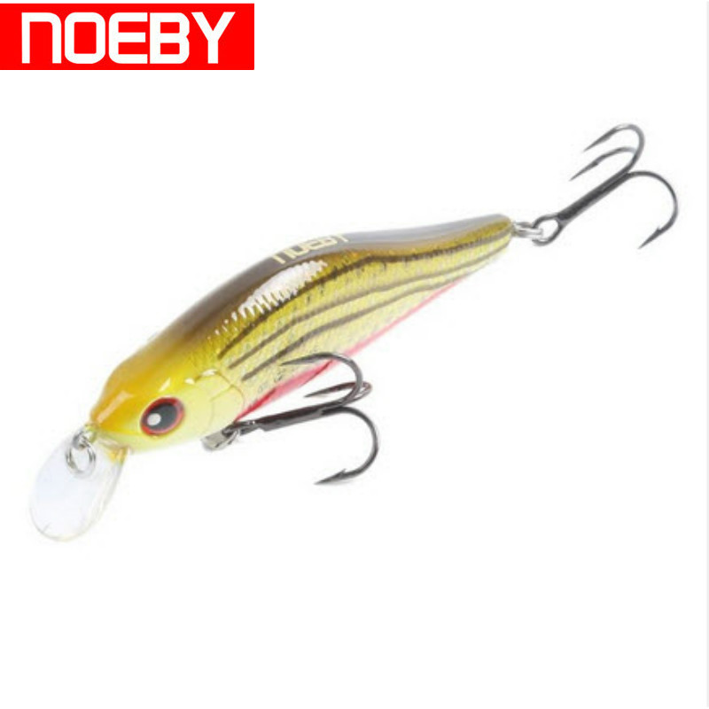 NOEBY Suspending Minnow Bass Pike Walleye Trout Plastic Fishing Wobbler Hard Baits Swimbaits Artificial Lure Shad Lure 7cm/8.3g wlure fishing lure blade lure metal vib hard bait shallow water bass walleye crappie minnow bl3s