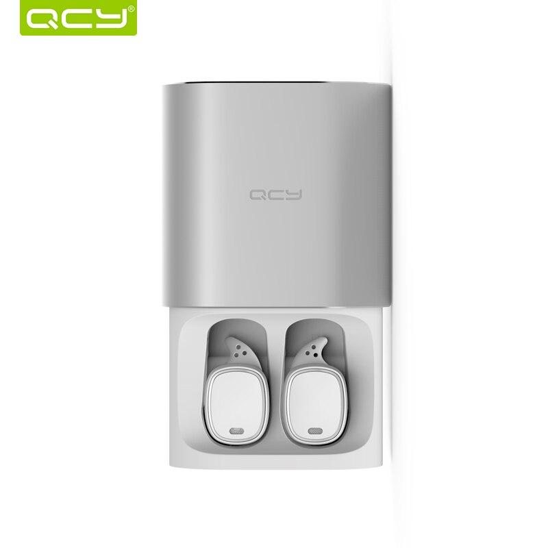 T1 pro negócio TWS QCY fones de ouvido Bluetooth chamadas em mãos livres com cancelamento de ruído fones de ouvido fones de ouvido com microfone sem fio 3d