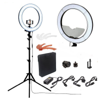 Cadiso Camera Photo Studio Phone Video RL 18 55W 240 LED Ring Light 5500K Photography Dimmable