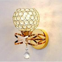 Modern Style Bedside Wall Lamp Bedroom Stair Lamp  E27 Led Wall Lights Silver/gold Lights For Bathroom Loft Lighting