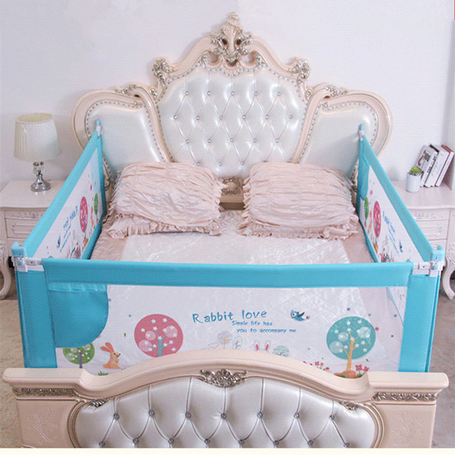 Baby Bed Fence Home Kids playpen Safety Gate Products child Care Barrier for beds Crib Rails Security Fencing Children Guardrail 3